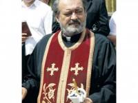 """preotul Mihai Negrea - """"Cetățean de Onoare al comunei Poiana Stampei"""" - iulie 2014"""