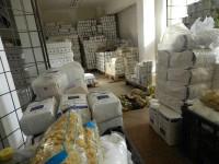 Tirurile cu ajutoarele alimentare UE vin cu o întârziere de două zile