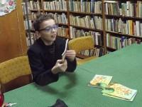 Întâlnire cu micul scriitor Seby Crăciun, în prag de Moş Crăciun