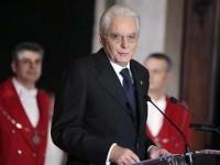 Noul preşedinte italian Sergio Mattarella a depus jurământul official
