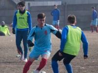 Amicale interesante între echipele de juniori B şi C de la LPS Suceava şi CSCT Buiucani din Republica Moldova