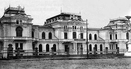 Chişinău, clădirea Sfatului Ţării