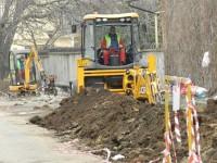 Primăria Suceava a amendat cu încă 4.000 lei constructorul de la reţelele de apă şi cele de canalizare