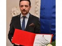 Universitarul  Daniel Şandru, cetăţean de onoare al municipiului Fălticeni
