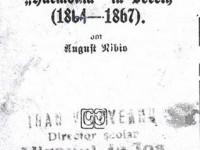 """Societatea Muzicală """" Armonia"""" din Siret (1864-1867)"""