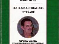 """""""Texte şi contratexte literare"""""""