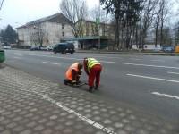 Deficienţe la gurile de canal de pe magistrala rutieră modernizată cu fonduri europene