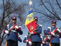 Ceremonialul militar de acordare a Drapelului de luptă Inspectoratului Judeţean de Jandarmi Suceava