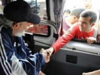 Fidel Castro a apărut în public pentru prima dată după mai mult de un an