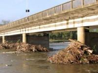 Deşeuri în albiile cursurilor de apă din cinci localităţi sucevene