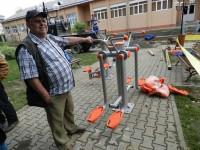 Aparate fitness, în valoare de 30.000 euro, din două parcuri sucevene, păzite de poliţiştii locali