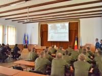 Delegaţie a Gărzii Naţionale din Ucraina la Fălticeni