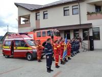 Nou punct de lucru al pompierilor pentru comunele Poiana Stampei şi Coşna şi satul Dealu Floreni