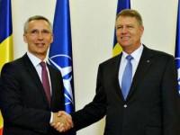 Preşedintele Klaus Iohannis s-a întâlnit cu secretarul general al NATO, Jens Stoltenberg