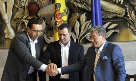 Noua alianţă de la Chişinău a finalizat programul de guvernare