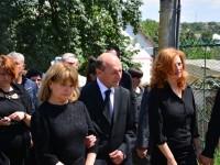 Gheorghe Andruşca a fost înmormântat cu onoruri militare
