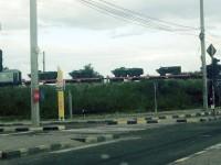 O garnitură de tren cu echipamente militare a traversat Suceava