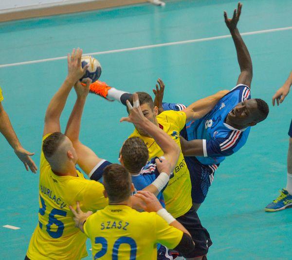 Echipa României s-a oprit în sferturile de finală fiind învinsă de Franţa