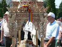 Procesiune la Fălticeni de sărbătoarea Sfântului Prooroc Ilie Tesviteanul