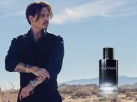 """Johnny Depp, imaginea parfumului """"Sauvage"""" de la Dior"""