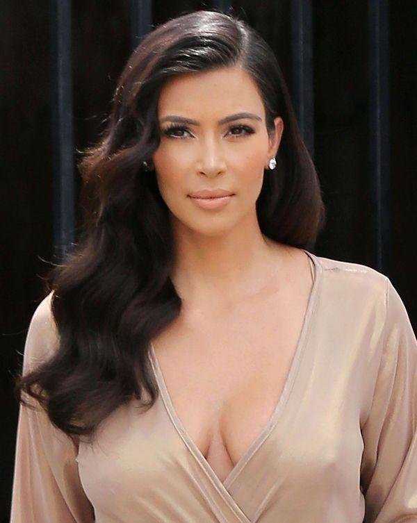 Kim Kardashian, fotografie nud pe Instagram pentru a răspunde criticilor privind sarcina sa