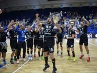Minaur Baia Mare, de două ori într-o zi, câştigătoare a Supercupei României la handbal