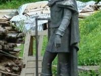 Statuia lui Petru Muşat va fi reamplasată în centrul Sucevei