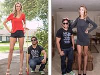 Lauren Williams are cele mai lungi picioare din Statele Unite: 124 de centimetri
