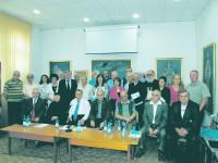 Juriul şi laureaţii Fundaţiei Culturale a Bucovinei la ediţia a XXI-a a Premiilor sale, acordate vineri, 18 septembrie 2015, pentru activitatea de creaţie a anului 2014