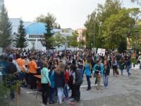 Peste 2000 de participanţi au fost atraşi în lumea Ştiinţelor, în pofida vremii nefavorabile