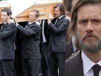 Jim Carrey a purtat pe umeri sicriul fostei sale iubite Cathriona White