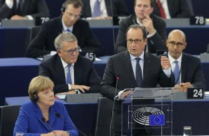 """Francois Hollande avertizează asupra """"unui sfârşit al Europei"""""""