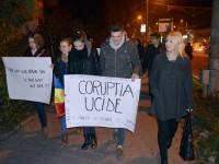 La Suceava, marş de doliu