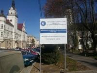 """Reabilitarea """"pietonalului"""" din zona Palatului Administrativ, lucrare finanţată de Guvern, transformată de Primărie în reabilitare """"drum"""""""