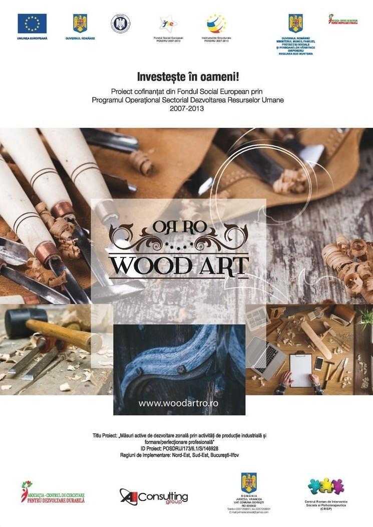 Wood Art Decorations – Lansare de întreprindere socială