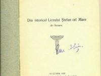 Prima monografie şcolară din Suceava