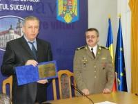 Col. Mugurel Anton, comandantul CMJ, la loc de cinste în Cartea valorilor bucovinene