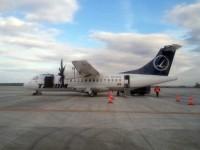 """Aeronavele de călători """"eşuate"""" în Iaşi aterizează în Suceava"""