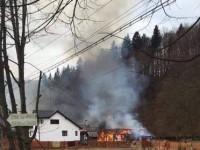 Incendiu la cantonul silvic Suceviţa