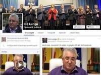Primarul Ion Lungu îşi face intrarea în forţă pe reţelele de socializare