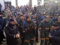 Minerii de la Exploatarea de Uraniu de la Crucea au declanşat o grevă spontană