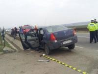 O femeie a murit şi alte două persoane au fost grav rănite