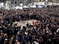 Belgienii au ţinut un moment de reculegere în memoria victimelor atentatelorde la Bruxelles