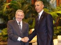 Barack Obama şi Raul Castro s-au întâlnit la Palatul Revoluţiei de la Havana