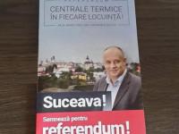 """Băişanu a început campania out-door pentru referendumul legat de termoficare sub sloganul """"Centrale termice în fiecare locuinţă"""""""