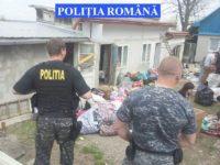 Percheziţii desfăşurate de poliţişti în zona pieţei centrale sucevene