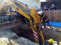 Peste un muncitor s-a surpat un mal de pământ