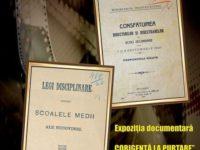 """""""Corigenţă la purtare"""" – expoziţie organizată de Serviciul Judeţean Suceava al Arhivelor Naţionale"""