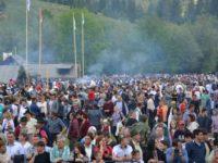 40.000 de persoane au participat la evenimentul organizat la Bucşoaia