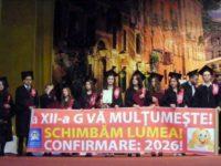 """Sărbătoare de mai pentru cei circa 250 de absolvenţi ai Colegiului """"Petru Rareş"""""""